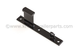 Hinge counter block for sideprotection