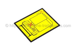 Adhesive label UIC 596-5/enclosure 6