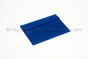 Document/Hazardous goods bag blue