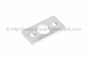 Spacer plate baffle bracket