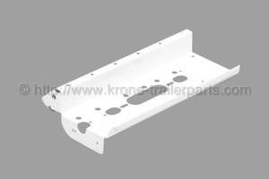 Lighting carrier plate white left