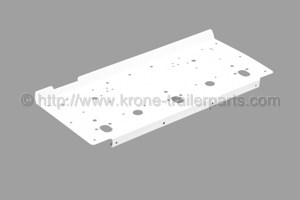 Lighting carrier plate white/middle